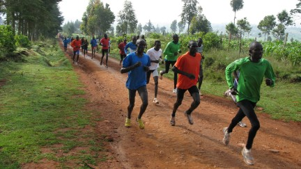Every day at 9 a.m. sharp in Iten, Kenya, 200 or so runners — most of them unknowns hoping to become champions — train on the dirt roads surrounding the t