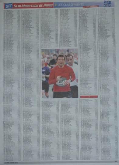 Herbert Semi marathon de paris 2012-2
