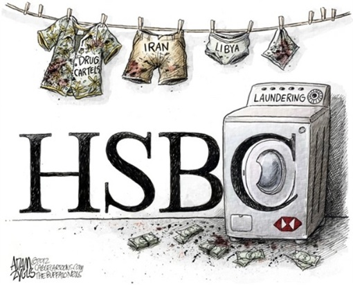 HSBC-Dirty-Money-Laundry-Washing-Machine
